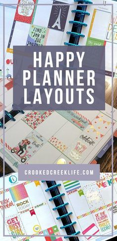 I love my Happy Planner! Seriously, since I switched over from my bullet journal, I& been so pleased with this planner system. I love the flexibility, and how fun they are to decorate! Enjoy this gallery of my past Happy Planner layouts!