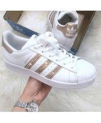 adidas superstar gold femme
