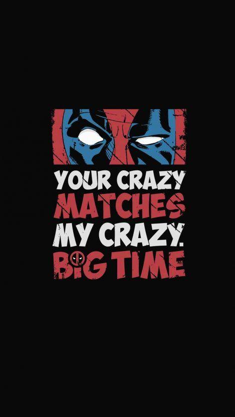 Deadpool Crazy IPhone Wallpaper - IPhone Wallpapers