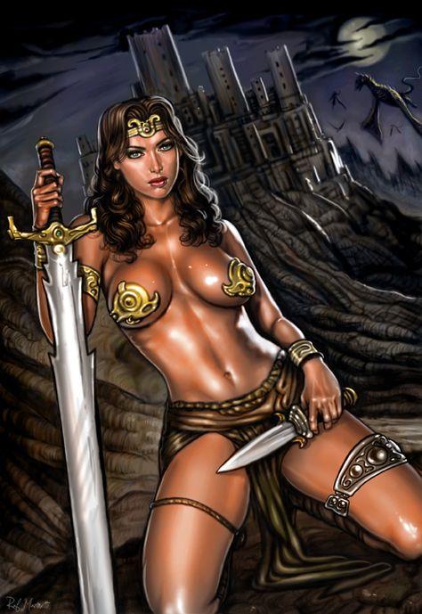 Princess Rhaan by RaffaeleMarinetti.deviantart.com