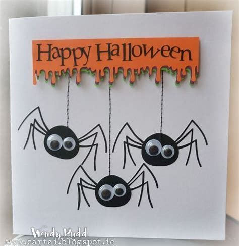 These Cost Free Printable Halloween Cards Are A Wonderful Manner In Which You Can Wish Frie Halloween Cards Handmade Happy Halloween Cards Halloween Cards Diy