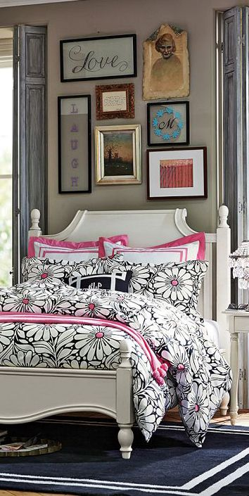 Daisy Dot Bedding #girls #bedrooms