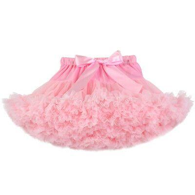 Girls Kids Tutu Skirt Dance Tutu Petticoat Party Fancy Dress Ballet Fluffy Layer