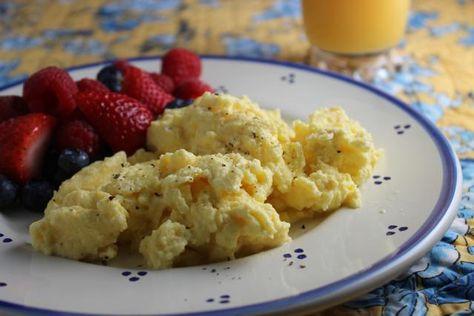 Make-Ahead Scrambled Eggs