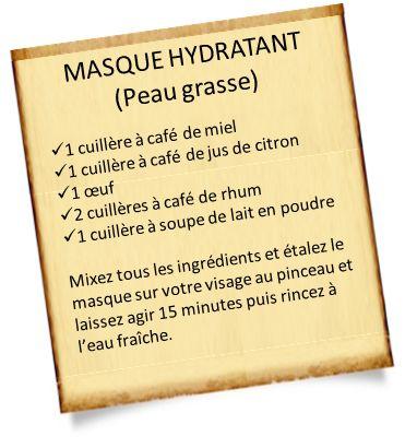 Masque hydratant visage maison aux huiles essentielles