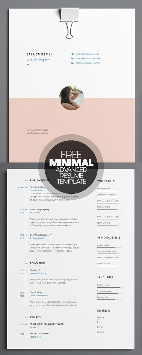 17 Free Clean Modern Cv Resume Templates Psd Freebies Graphic Design Junction Lebenslauf Design Kreativer Lebenslauf Lebenslauf Layout