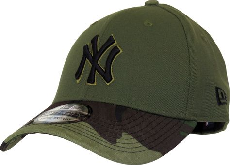 7a3339866ab New Era 39Thirty New York Yankees Memorial Day Baseball Cap. Green ...