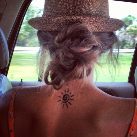 Tattoo placement, summer, fedora