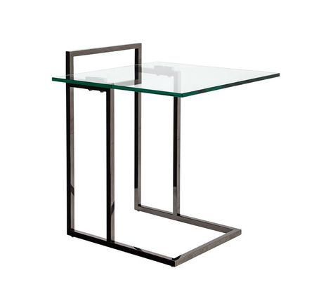Milli Glass Modern End Tables With Images Contemporary End