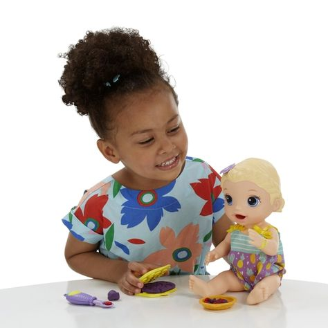 Baby Alive Super Snack Snackin Lily Doll Smyths Toys In 2020 Baby Alive Baby Alive Dolls Doll Food