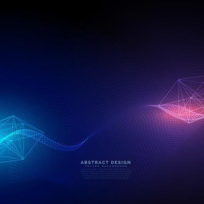2019 的 abstract technology background with light effect vector