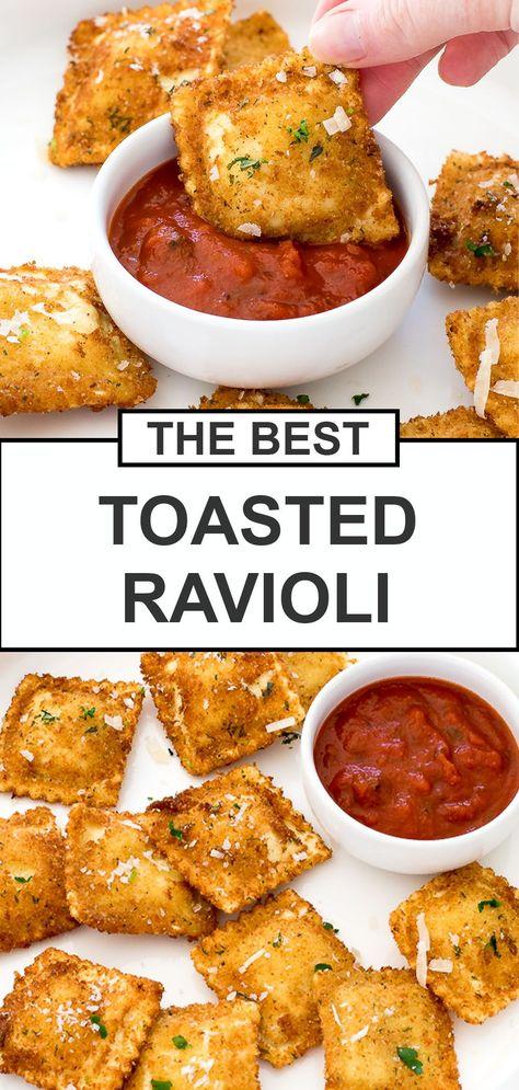 Toasted Ravioli - Chef Savvy