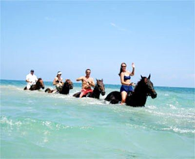 Ocho Rios, Jamaica Horse Back riding Went with my sister . . . When staying at the Riu hotel