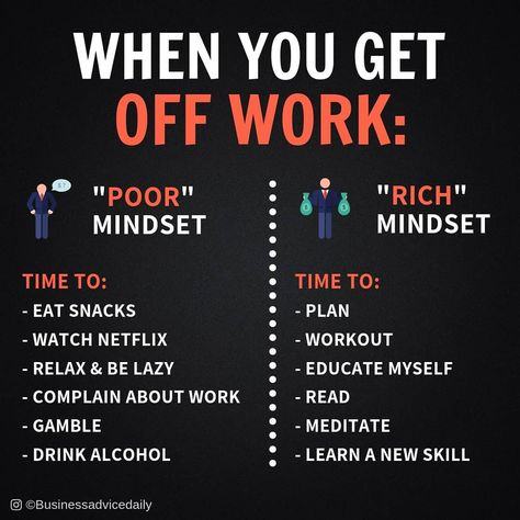 What do you do when you get off work? Business Quotes, Business Tips, Online Business, Business Goals, Business Motivational Quotes, Business Education, Business Entrepreneur, Get Off Work, Think And Grow Rich