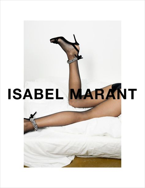 Anna Ewers by Juergen Teller for Isabel Marant Spring 2018 ad campaign Juergen Teller, Isabel Marant, Fashion Advertising, Advertising Campaign, Campaign Posters, Creative Advertising, Shoe Advertising, Brand Campaign, Shoes Editorial