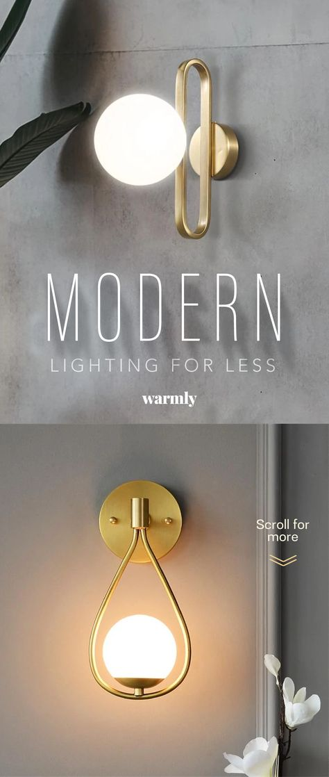 Modern Lights & Lamps for Less - Warmly