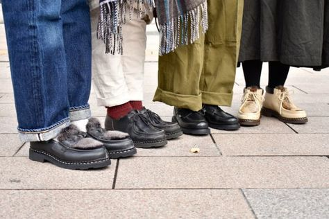 ミカエル コーデ パラブーツ 革靴界の王様。パラブーツの人気モデルや傑作モデルを網羅。