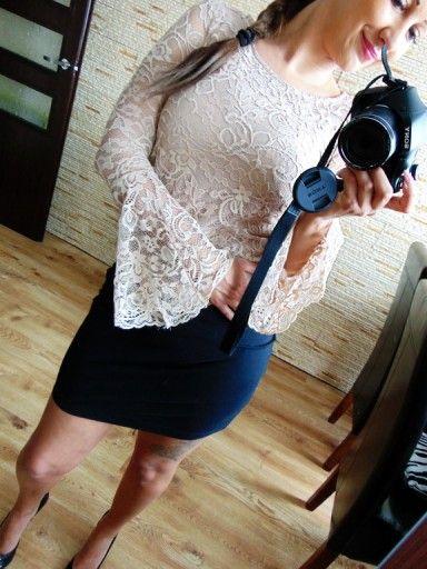 Koronkowa Bluzka Reserved 34 Xs Hit Moda Lato Moda Kobieta I Ootd
