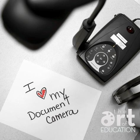 15 Fabulous Ways to Utilize a Document Camera in the Art Room