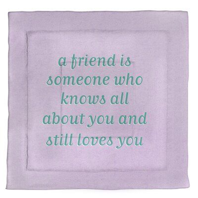 East Urban Home Handwritten Love Friendship Quote Microfiber Comforter King Size Size King Comfort Love Friendship Quotes True Beauty Quotes Purple Quotes