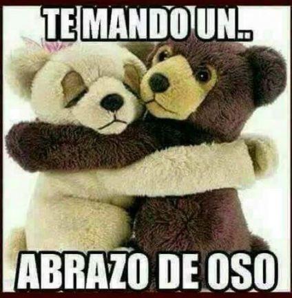 Memes De Amor Y Amistad Chistosos 51 Ideas Teddy Bear Hug Teddy Beer Good Day Quotes