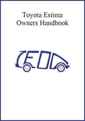 Toyota Estima 2000 2005 Owners Manual Free Owners Manuals Manual Car Toyota