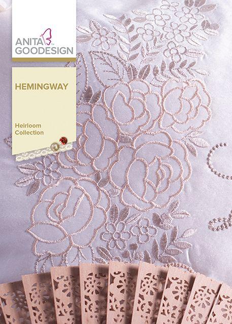 Anita Goodesign REGAL POINSETTIAS Embroidery Machine Designs CD