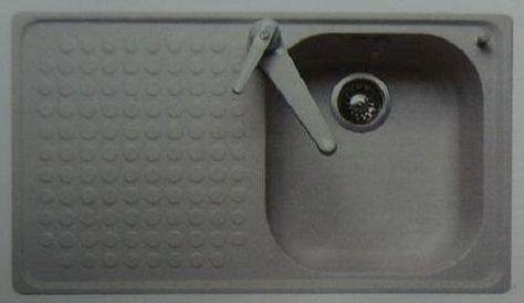 FRANKE-BELINOX Spüle Einbauspüle 120 x 50 cm Weiss BECKEN-LINKS - spülbecken küche granit