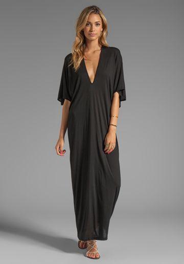 74b18700fd91 RILLER & FOUNT Robyn Caftan Maxi in Black - Caftan | Inspirational Style...  | Caftan dress, Fashion, Kaftan