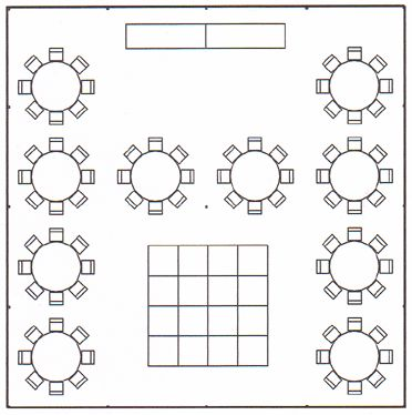 Wedding floor plans on pinterest floor plans seating for Wedding tent layout tool