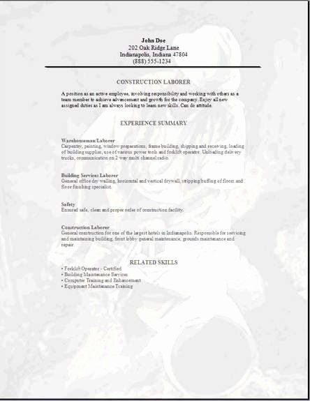 23 General Contractor Job Description Resume In 2020 Job Resume