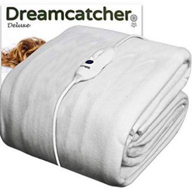 Single Electric Blanket Underblanket Full Size Single Bed Size 90 X 190cm Fitted Heated Blanket Washable Luxury Polyester Fully F Bed Sizes Heated Blanket Mattress Covers