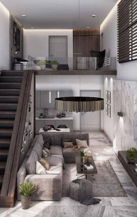 Moderne Häuser: Entdecken Sie 100 Modelle von innen und außen #wolf #hanglage #modernerbungalow #architektenhäuser #stadtvilla #holzhaus #hang #architektur #ideas #architektenhaus #bungalows