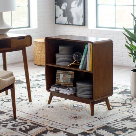 Home With Images Small Bookcase Mid Century Modern Bookcase