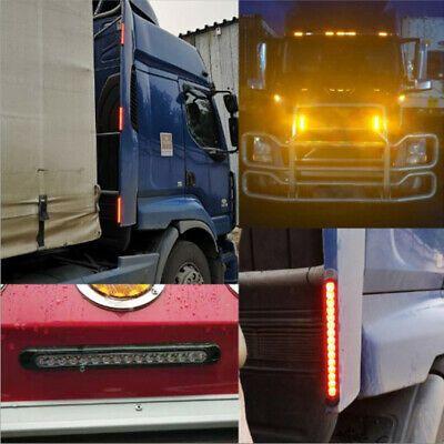 Sponsored Ebay 2x Truck Trailer Lights Bar Reverse Backup Lamps Brake Steering Taillight 15 Led In 2020 Bar Lighting Tail Light Trucks
