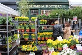 Columbia Road Flower Market The Columbia Road Flower Market Is The Largest Of Its Kind In London Lined With In 2020 Columbia Road Flower Market Flower Market Plants