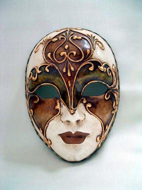 Asian Home Colorful Porcelain Wall Decor Beauty Mask LG