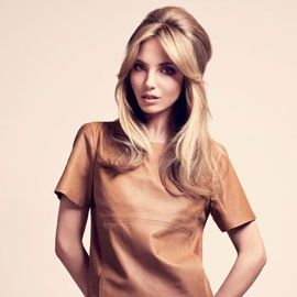 60s half-up hairstyle (yes!)