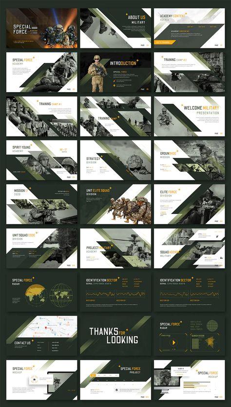 Special Force Google Slides Template