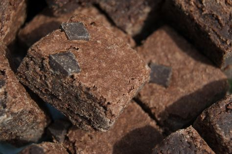 Unbelievable Chocolate Coated Brownies - Low Calorie Value - Wendy Schultz onto Brownies.
