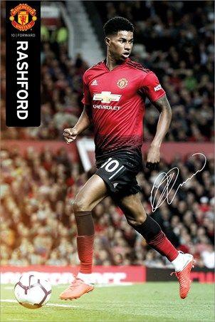 Manchester United Rashford 18//19