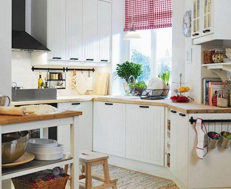 Ways To Open Small Kitchens Space Saving Ideas From Ikea Ikea Small Kitchen Modern Kitchen Remodel Ikea Kitchen Design