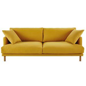 Kundenkonto Maisons Du Monde 3 Sitzer Sofa Senfgelb Couch Mit Schlaffunktion