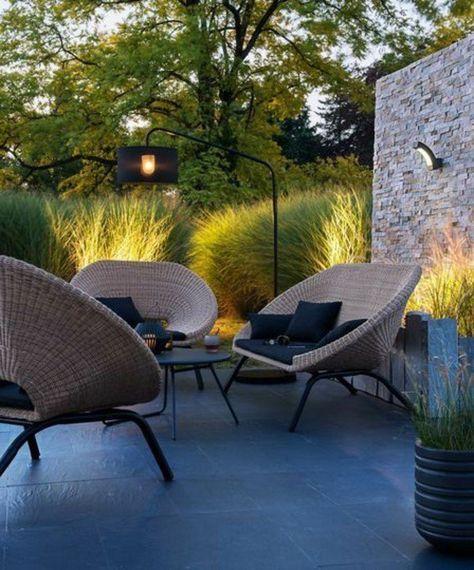 Le Salon De Jardin En Resine Tressee En 52 Photos Agrement De Jardin Jardin Moderne Et Mobilier Jardin
