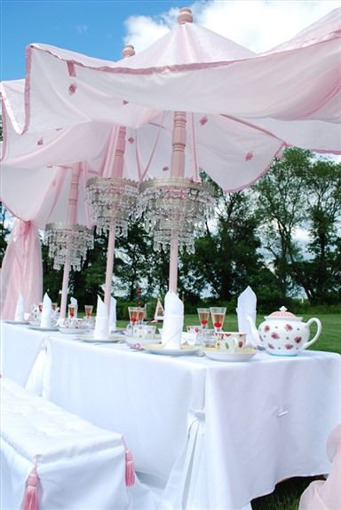 princess party table decor
