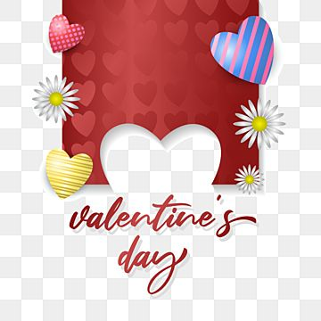 Happy Valentines Day With Red Ribbon Valentine Red Day Png And Vector With Transparent Background For Free Download In 2021 Happy Valentines Day Card Happy Valentines Day Gift Vector