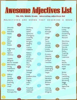 21++ Adjectives to describe golf ideas