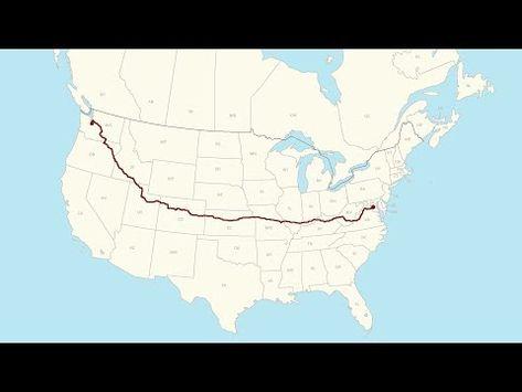 Washington Dc To Seattle Wa A Complete Road Trip Youtube Wa