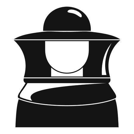 Beekeeper Icon Simple Style Bee Keeping Simple Style Icon