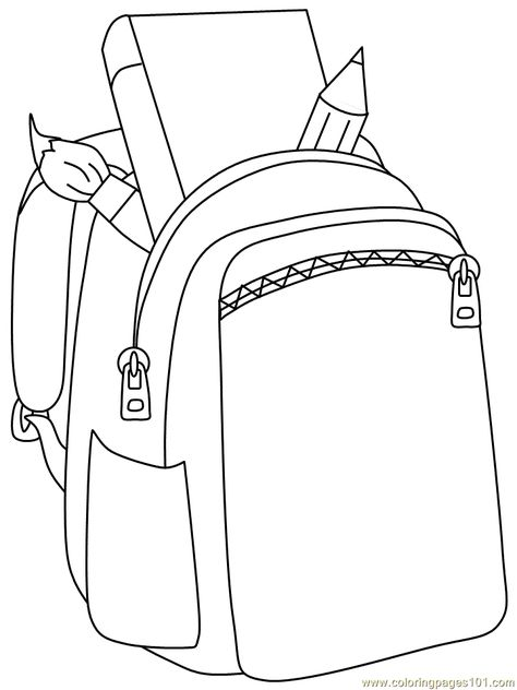 List Of Pinterest Backpack Drawing Open Images Backpack